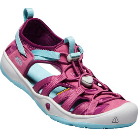 Keen Youth Moxie Sandals Red Violet/Pastel Turquoise
